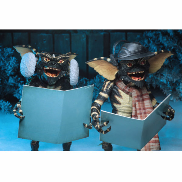 GREMLINS PACK 2 FIGURINES CHRISTMAS CAROL WINTER SCENE SET 2 NECA 15 CM (1) 634482307489 kingdom-figurine.fr