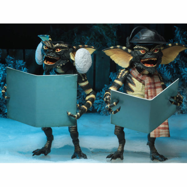 GREMLINS PACK 2 FIGURINES CHRISTMAS CAROL WINTER SCENE SET 2 NECA 15 CM (2) 634482307489 kingdom-figurine.fr
