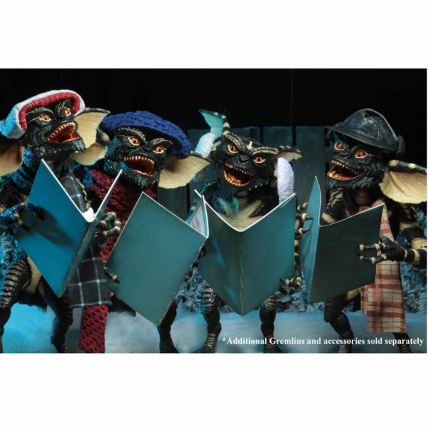 GREMLINS PACK 2 FIGURINES CHRISTMAS CAROL WINTER SCENE SET 2 NECA 15 CM (4) 634482307489 kingdom-figurine.fr