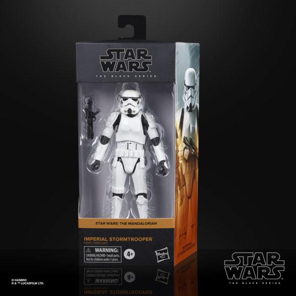IMPERIAL STORMTROOPER FIGURINE STAR WARS THE MANDALORIAN BLACK SERIES HASBRO E9352 15 CM 5010993749171 kingdom-figurine.fr