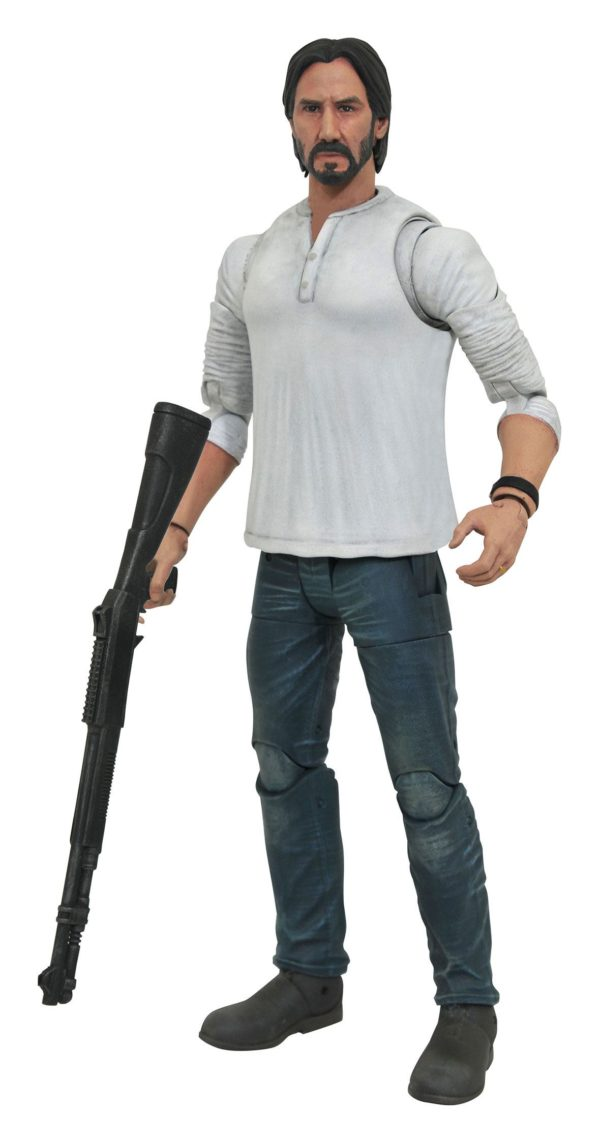 JOHN WICK CASUAL FIGURINE SELECT JOHN WICK 2 DIAMOND SELECT 18 CM (1) 699788833926 kingdom-figurine.fr