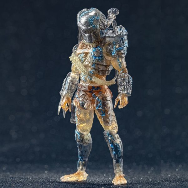 JUNGLE HUNTER WATER EMERGENCE FIGURINE 1-18 PREDATOR HIYA TOYS 11 CM (1) 6957534200557 kingdom-figurine.fr
