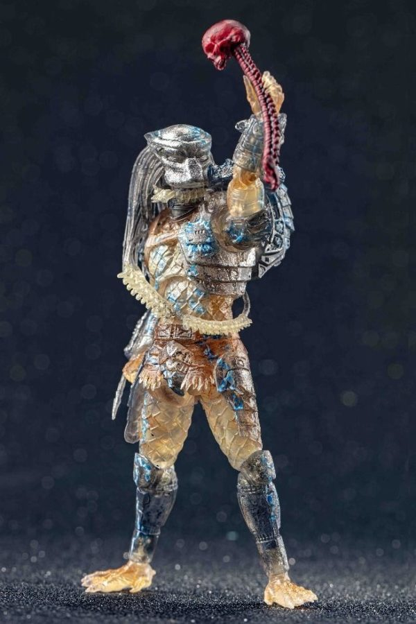 JUNGLE HUNTER WATER EMERGENCE FIGURINE 1-18 PREDATOR HIYA TOYS 11 CM (3) 6957534200557 kingdom-figurine.fr