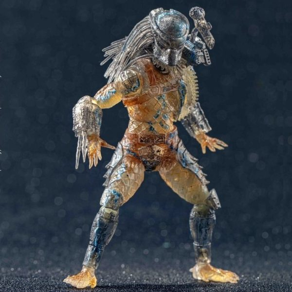 JUNGLE HUNTER WATER EMERGENCE FIGURINE 1-18 PREDATOR HIYA TOYS 11 CM (4) 6957534200557 kingdom-figurine.fr