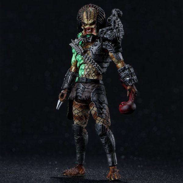 JUNGLE PREDATOR BATTLE DAMAGE FIGURINE 1-8 PREDATOR 11 CM (1) 6957534200533 kingdom-figurine.fr