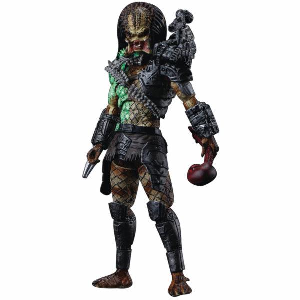 JUNGLE PREDATOR BATTLE DAMAGE FIGURINE 1-8 PREDATOR 11 CM 6957534200533 kingdom-figurine.fr