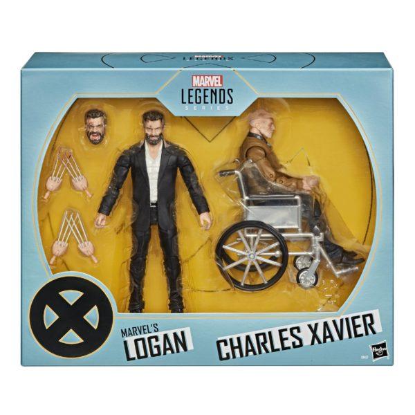LOGAN & CHARLES XAVIER EXCLUSIVE PACK 2 FIGURINES X-MEN MARVEL LEGENDS 15 CM 5010993755967 kingdom-figurine.fr (11)