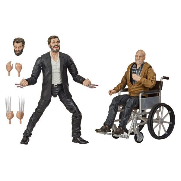 LOGAN & CHARLES XAVIER EXCLUSIVE PACK 2 FIGURINES X-MEN MARVEL LEGENDS 15 CM 5010993755967 kingdom-figurine.fr