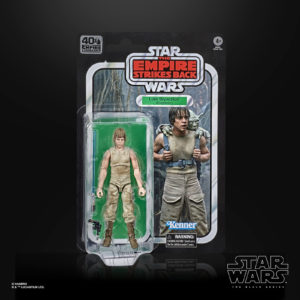 LUKE SKYWALKER FIGURINE STAR WARS EPISODE V BLACK SERIES 40TH ANNIVERSARY HASBRO 15 CM 5010993714940 kingdom-figurine.fr