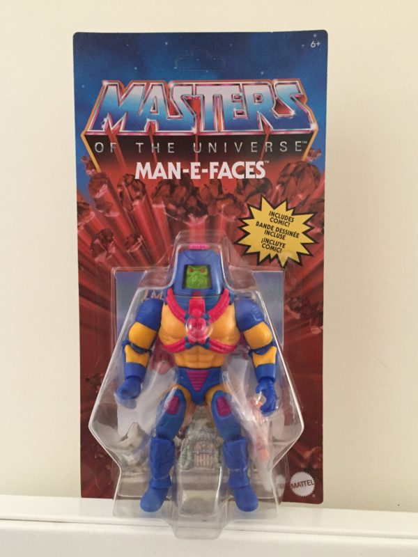 MAN-E-FACES FIGURINE MASTERS OF THE UNIVERSE ORIGINS MATTEL 14 CM (0) 887961875362 kingdom-figurine.fr