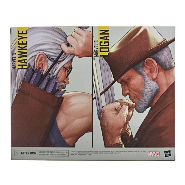 OLD MEN LOGAN & HAWKEYE PACK 2 FIGURINES X-MEN MARVEL LEGENDS HASBRO 15 CM (11) 5010993722143 kingdom-figurine.fr