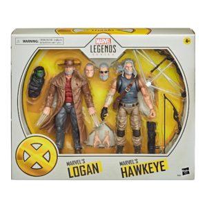 OLD MEN LOGAN & HAWKEYE PACK 2 FIGURINES X-MEN MARVEL LEGENDS HASBRO 15 CM 5010993722143 kingdom-figurine.fr