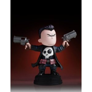 PUNISHER MINI STATUETTE MARVEL ANIMATED SERIES GENTLE GIANT 11 CM 814176021765 kingdom-figurine.fr