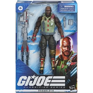 ROADBLOCK FIGURINE G.I. JOE CLASSIFIED SERIES WAVE 1 HASBRO 15 CM 5010993662388 kingdom-figurine.fr