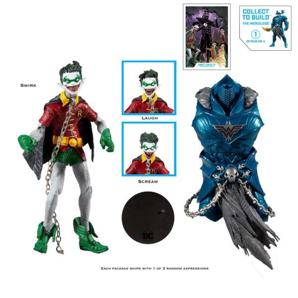 ROBIN EARTH FIGURINE DARK NIGHTS METAL DC MULTIVERSE McFARLANE TOYS 18 CM (5) 787926154221 kingdom-figurine.fr