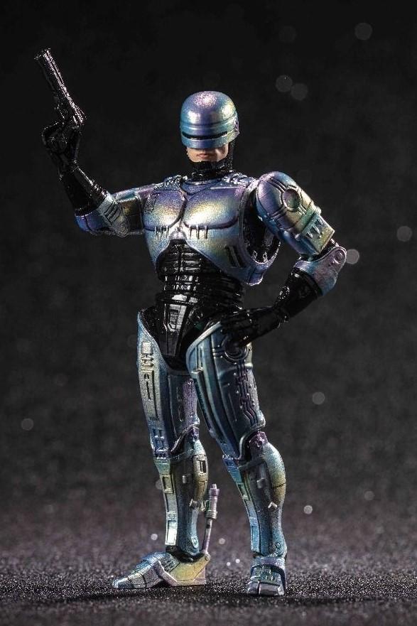 ROBOCOP 2 FIGURINE 1-18 ROBOCOP 2 HIYA TOYS 10 CM (3bis) 6957534200854 kingdom-figurine.fr