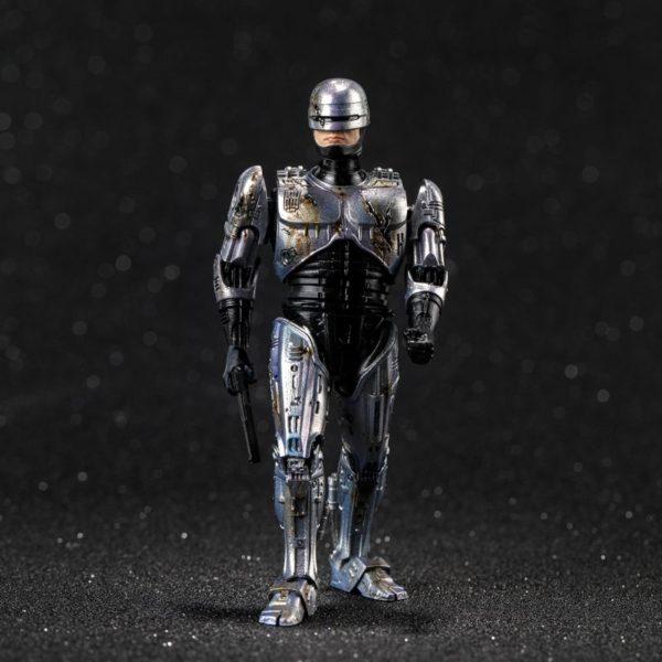 ROBOCOP BATTLE DAMAGE FIGURINE 1-18 ROBOCOP HIYA TOYS 11 CM (1) 6957534200762 kingdom-figurine.fr