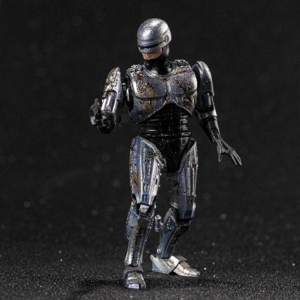 ROBOCOP BATTLE DAMAGE FIGURINE 1-18 ROBOCOP HIYA TOYS 11 CM (2) 6957534200762 kingdom-figurine.fr