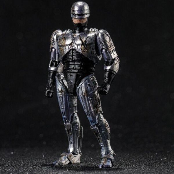 ROBOCOP BATTLE DAMAGE FIGURINE 1-18 ROBOCOP HIYA TOYS 11 CM (3) 6957534200762 kingdom-figurine.fr