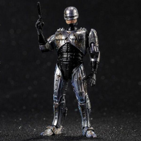 ROBOCOP BATTLE DAMAGE FIGURINE 1-18 ROBOCOP HIYA TOYS 11 CM (5) 6957534200762 kingdom-figurine.fr