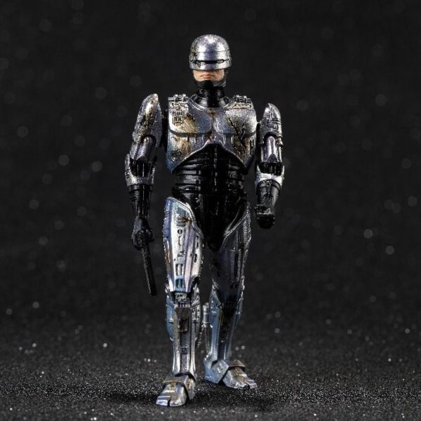 ROBOCOP BATTLE DAMAGE FIGURINE 1-18 ROBOCOP HIYA TOYS 11 CM (6) 6957534200762 kingdom-figurine.fr