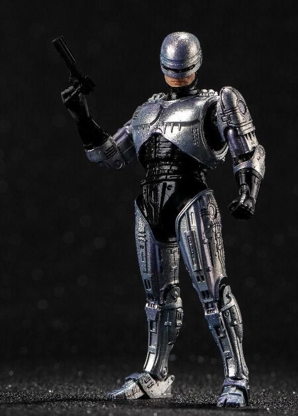 ROBOCOP FIGURINE 1-18 ROBOCOP HIYA TOYS 11 CM (2) 6957534200755 kingdom-figurine.fr