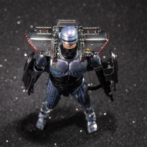 ROBOCOP WITH JETPACK FIGURINE 1-18 ROBOCOP 3 HIYA TOYS 10 CM (1) 6957534200816 kingdom-figurine.fr