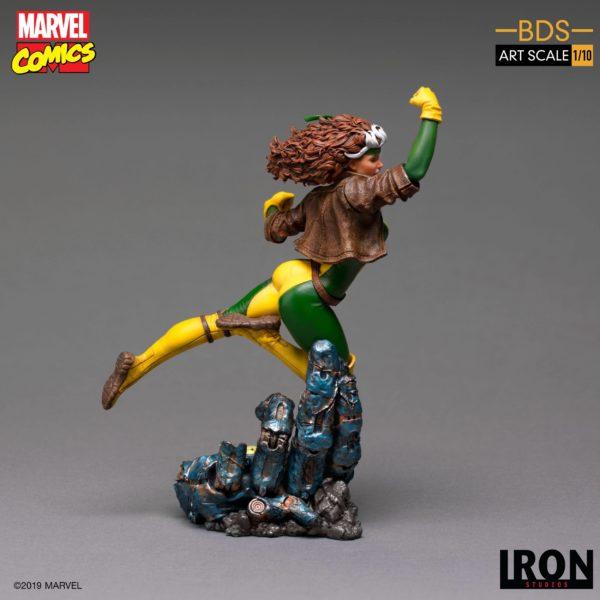 ROGUE STATUETTE 1-10 MARVEL COMICS BDS ART SCALE IRON STUDIOS 20 CM (6) 606529900168 kingdom-figurine.fr