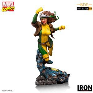ROGUE STATUETTE 1-10 MARVEL COMICS BDS ART SCALE IRON STUDIOS 20 CM 606529900168 kingdom-figurine.fr