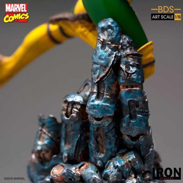 ROGUE STATUETTE 1-10 MARVEL COMICS BDS ART SCALE IRON STUDIOS 20 CM (8) 606529900168 kingdom-figurine.fr