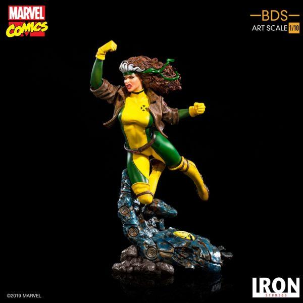 ROGUE STATUETTE 1-10 MARVEL COMICS BDS ART SCALE IRON STUDIOS 20 CM (9) 606529900168 kingdom-figurine.fr