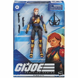 SCARLETT FIGURINE G.I. JOE CLASSIFIED SERIES WAVE 1 HASBRO 15 CM 5010993662432 kingdom-figurine.fr
