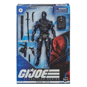 SNAKE EYES FIGURINE G.I. JOE CLASSIFIED SERIES WAVE 1 HASBRO 15 CM 5010993662395 kingdom-figurine.fr