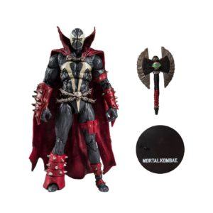 SPAWN WITH AXE TARGET EXCLUSIVE FIGURINE MORTAL KOMBAT McFARLANE TOYS 18 CM 787926110326 kingdom-figurine.fr