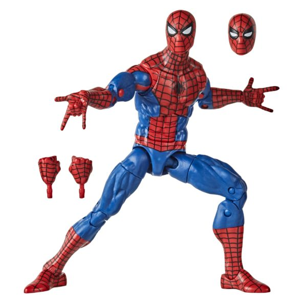 SPIDER-MAN FIGURINE MARVEL SPIDER-MAN RETRO COLLECTION HASBRO 15 CM (1) 5010993715527 kingdom-figurine.fr