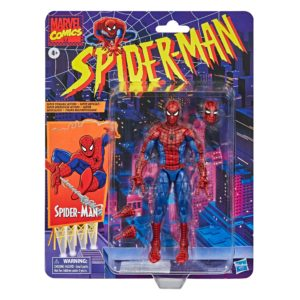 SPIDER-MAN FIGURINE MARVEL SPIDER-MAN RETRO COLLECTION HASBRO 15 CM 5010993715527 kingdom-figurine.fr