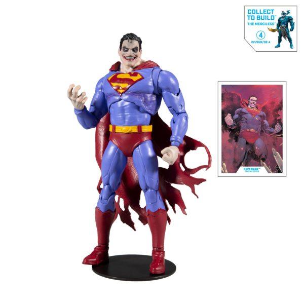 SUPERMAN THE INFECTED FIGURINE DC MULTIVERSE McFARLANE TOYS 18 CM 787926154238 kingdom-figurine.fr