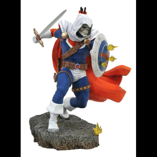 TASKMASTER STATUETTE MARVEL COMIC GALLERY DIAMOND SELECT 23 CM 699788839386 kingdom-figurine.fr