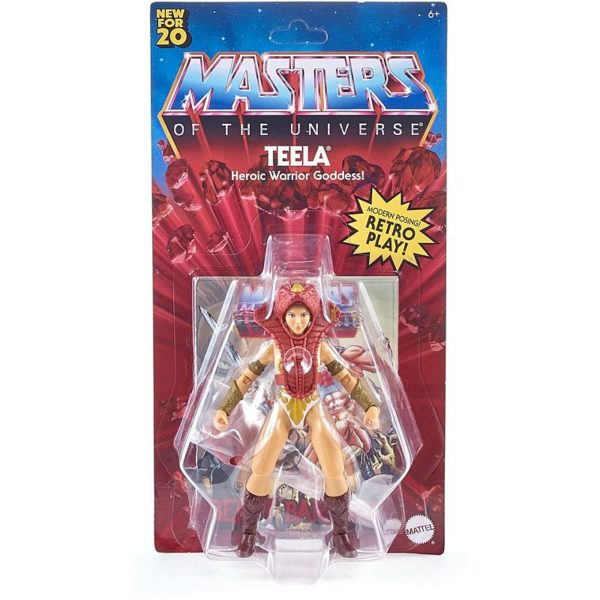 TEELA FIGURINE MASTERS OF THE UNIVERSE ORIGINS WAVE 1 MATTEL 14 CM 887961875430 kingdom-figurine.fr