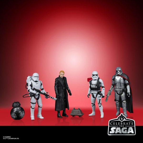 THE FIRST ORDER PACK 5 FIGURINES STAR WARS CELEBRATE THE SAGA HASBRO 10 CM (1) 5010993782598 kingdom-figurine.fr