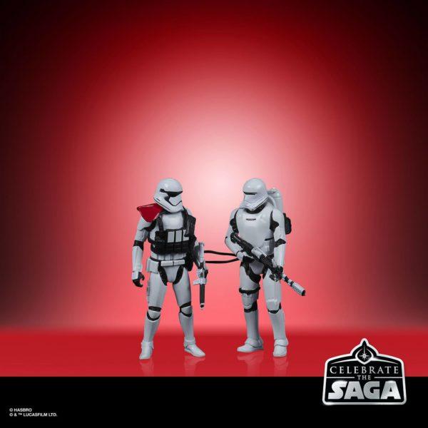 THE FIRST ORDER PACK 5 FIGURINES STAR WARS CELEBRATE THE SAGA HASBRO 10 CM (3) 5010993782598 kingdom-figurine.fr