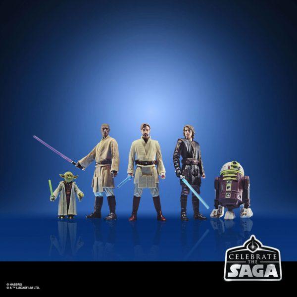 THE JEDI ORDER PACK 5 FIGURINES STAR WARS CELEBRATE THE SAGA HASBRO 10 CM (1) 5010993782512 kingdom-figurine.fr