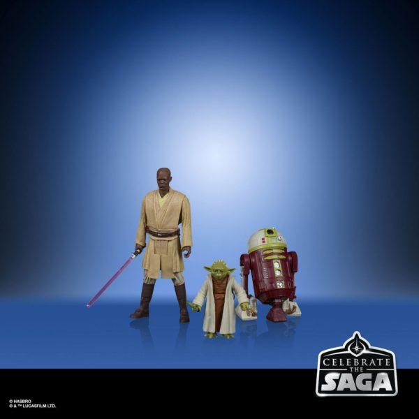 THE JEDI ORDER PACK 5 FIGURINES STAR WARS CELEBRATE THE SAGA HASBRO 10 CM (2) 5010993782512 kingdom-figurine.fr