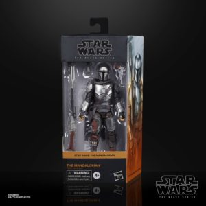 THE MANDALORIAN BESKAR ARMOR FIGURINE STAR WARS THE MANDALORIAN BLACK SERIES HASBRO E9358 15 CM 5010993749218 kingdom-figurine.fr