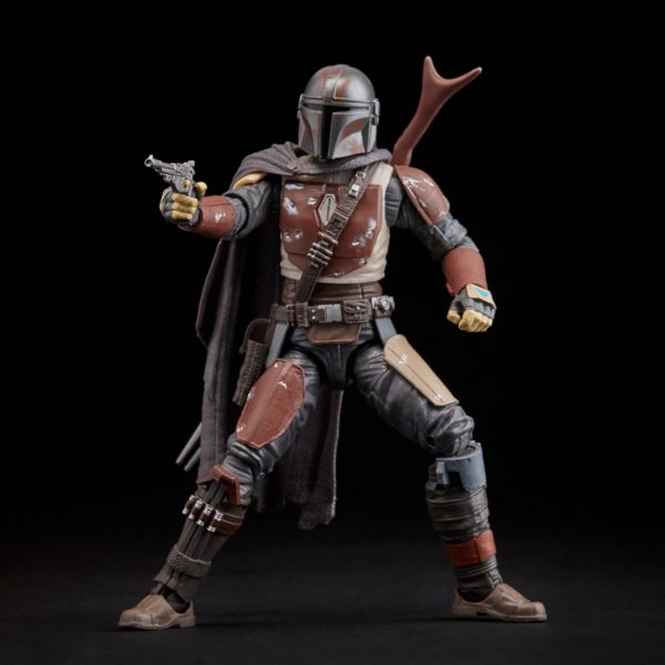 THE MANDALORIAN FIGURINE STAR WARS THE MANDALORIAN BLACK SERIES E6959 HASBRO 15 CM (3) 5010993622153 kingdom-figurine.fr