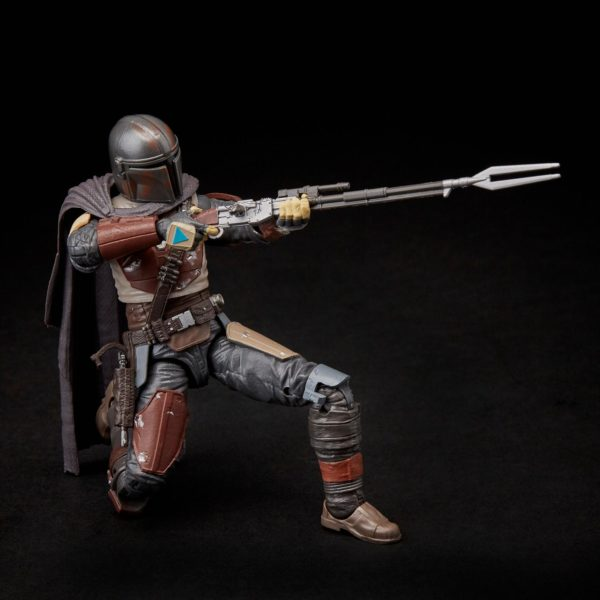 THE MANDALORIAN FIGURINE STAR WARS THE MANDALORIAN BLACK SERIES E6959 HASBRO 15 CM (4) 5010993622153 kingdom-figurine.fr
