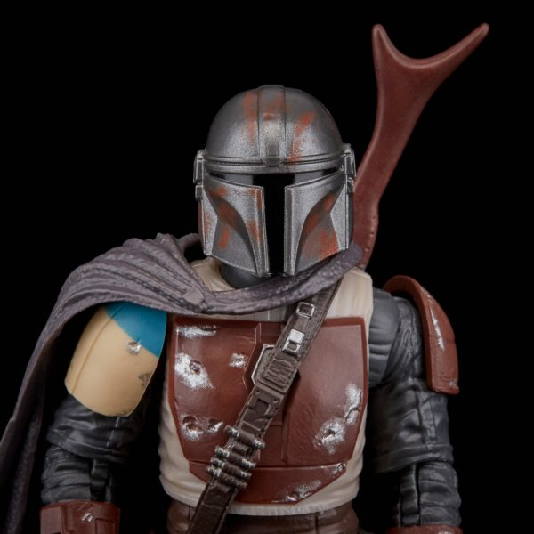 THE MANDALORIAN FIGURINE STAR WARS THE MANDALORIAN BLACK SERIES E6959 HASBRO 15 CM (5) 5010993622153 kingdom-figurine.fr