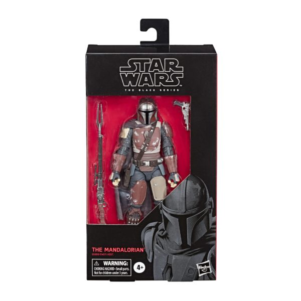 THE MANDALORIAN FIGURINE STAR WARS THE MANDALORIAN BLACK SERIES E6959 HASBRO 15 CM 5010993622153 kingdom-figurine.fr