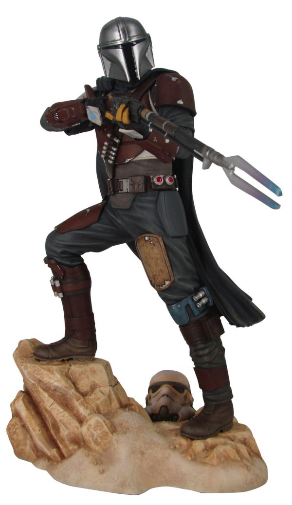THE MANDALORIAN STATUETTE 1-7 STAR WARS PREMIER COLLECTION GENTLE GIANT 29 CM (0) 699788839294 kingdom-figurine.fr