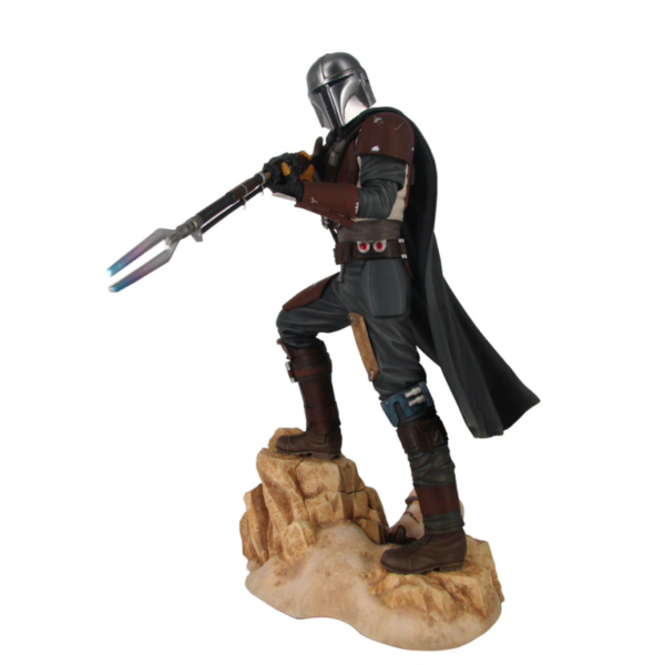 THE MANDALORIAN STATUETTE 1-7 STAR WARS PREMIER COLLECTION GENTLE GIANT 29 CM (2) 699788839294 kingdom-figurine.fr
